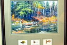 Fishing Art / Fine art in various mediums at Spirits in the Wind Gallery
