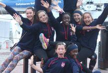 Sunvalley u13A netball team 2015