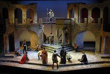 Romeo és Julia set designe