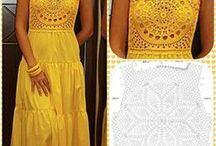 customização de crochê em roupas