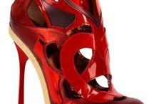 Red shoes / by Sonja Westerman-Murphrey