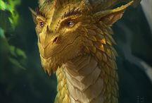 Dragon Scale - A Novel inspiration board / Images for inspiration for my Fantasy novel