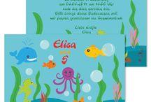 Unterwasserwelt Oceanparty / Kindergeburtstag Themenparty Unterwasserwelt, Oceanparty