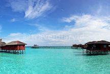 Visit Maratua- Indonesia / this is Maratua ! Maldives in Southeast Asia.. really exotic beach