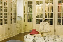 dressing room, walk in closets / by Robin Weir Horner
