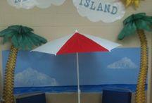 Ocean/beach theme