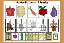 Téma: Práce na poli, zahrada