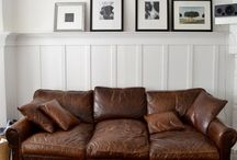 Leather Sofa / by June-Marie Liddy