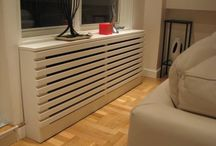 How to make a radiator housing / A central heating radiator can be a rather obtrusive sight in your interior. New design radiators are often expensive, and can be difficult to install. A radiator housing is a good solution – the radiator is neatly hidden from view.   #Skilhelps