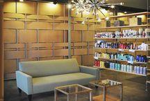 salon design ideas / by Michelle Brisson Hairstylist