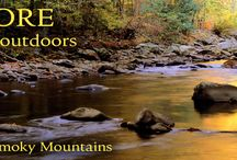 Camping in the Great Smoky Mountains / Pitch your tent, or park the RV beside a 100 mile view or a rushing mountain stream. The choice is yours in the Great Smoky Mountains!