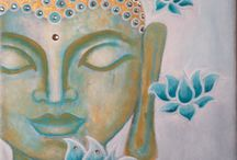 buddha pintura