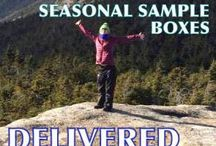 VOA Seasonal Box / Vegan & cruelty-free items and snacks delivered right to your door. Available 4 times a year, one box for each season. http://veganoutdooradventures.com/seasonal-sample-box/