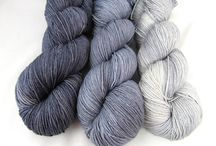 Whimsical Solids / Painterly semi-solids in multiple shades per color.