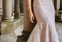Pink wedding dresses x