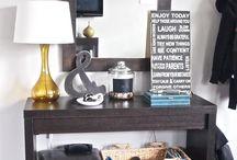 Decor ideas for my new home / by Tara Ruzzo