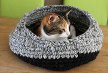 Katzenbetten Häkeln
