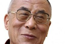 Dalai Lama / I just want to sit and smile and laugh with the 14th Dalai Lama, Tenzin Gyatso. He wouldn't even have to say anything.