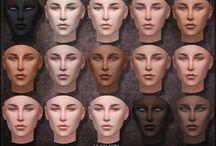 TS4 genetics&makeup