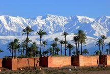Maroc sous la neige