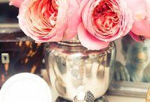 Table settings / Flowers crockery