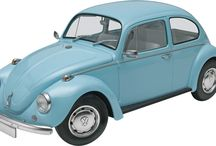 The Imports / Models of imports and super cars from Revell USA and Revell Germany.