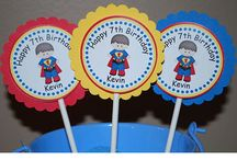 Birthday Cupcake Toppers Design Portfolio