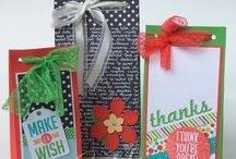 Stampin Up 2016 Gift Bag Punch Board