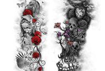 Tatouage couleurs