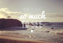 "Travel Quotes / ""Travel is the only thing you buy that makes you richer"""