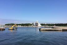 mihama beach / 千葉市美浜区の海岸模様