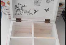 cajas y bandejas
