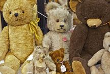Teddy Bears  / I have a small teddy bear collection.   Some of these are mine.