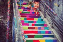 WoolKiss ❤ Yarn bombing & street art ❤