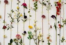 flower backdrop wedding