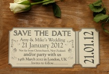 Save the Dates  / by Julie Millar