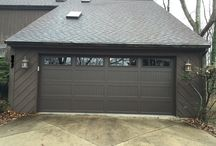 Transformation / Look at the difference in the look of this house with a new garage door from Rolling & Sliding Doors of Dayton!