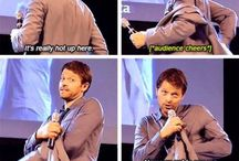 Misha Collins and SPN