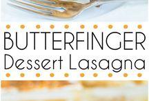 Dessert Lasagnas