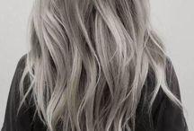 ash grey-white
