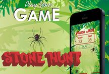Stone Hunt Game Application