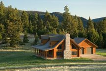 Log Home Outdoor Spaces / Enjoy your log home outdoor spaces.