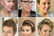 Chemo hair tips