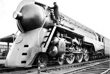 Railways, locomotives & trains