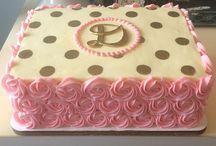 Tk bday cakes