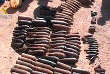 Explosivos de la pasada guera civil española