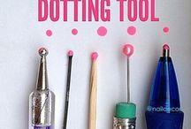 fabriquer son dotting tool