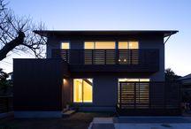 igawa-arch/Natural materials house