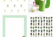 printable cactus tags