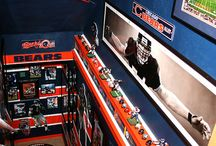 Chicago Bears Room & (wo)Man Caves / Chicago Bears Bedrooms, Room & (wo)Man Caves - Pictures, Ideas, & Fun Products / Merchandise